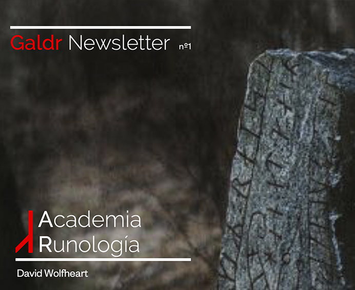galdr newletter academia runologia